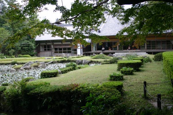 秋の常栄寺「雪舟庭」/癒し憩い画像データベース(57270)