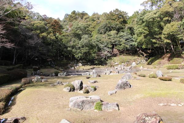 冬の山口・常栄寺「雪舟庭」/癒し憩い画像データベース(236296)