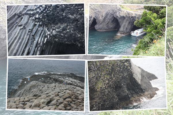 柱状節理の海岸・唐津「呼子の七ツ釜」
