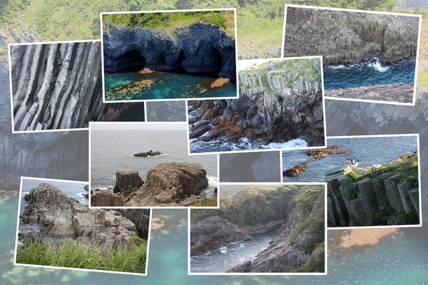 日本各地の「柱状節理の海岸(その1)」